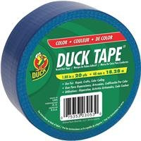 Duck Brand 527267 Blue Color Duct Tape, 1.88-Inch by 20 Yards, Single Roll