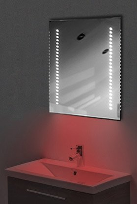 Ambient Shaver Led Bathroom Illuminated Mirror With Demister Pad & Sensor K36Sr