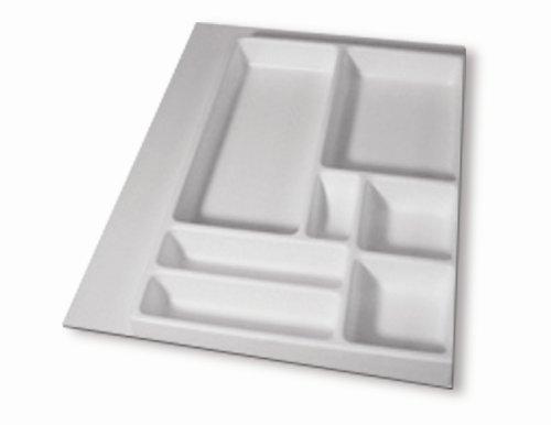 16'' X 21'' Junk Drawer Organizer, White