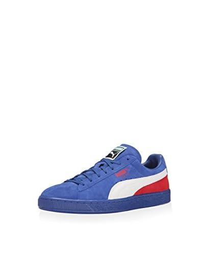 PUMA Men's Suede Classic + Blocked Sneaker