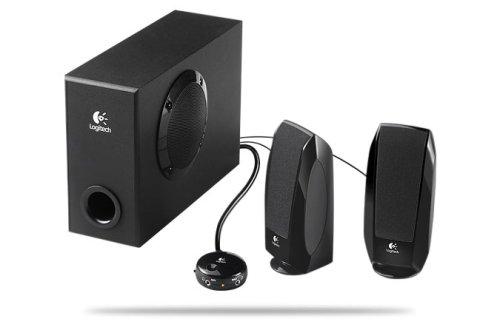 Logitech S220 17W RMS 2.1 PC-Lautsprecher OEM schwarz