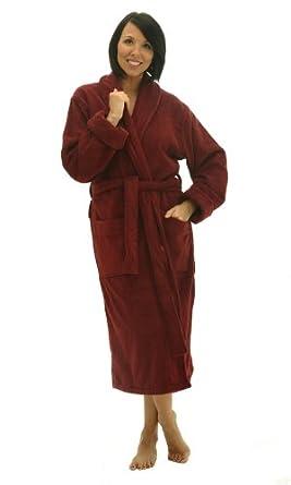 Alexander Del Rossa Women s Thick Terry Cloth Cotton Bathrobe afef0d21e