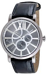 Kenneth Cole New York Men's KC1980 Classic Grey Dial Strap Analog Watch