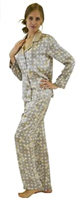Silk Pajama Set - Ancient Coins