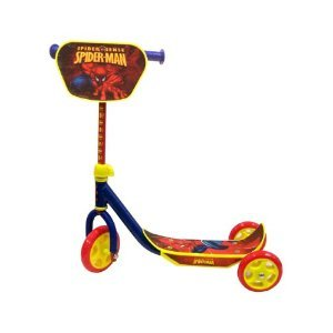 Spiderman Marvel Scooter - Kids Push Scooter - Yellow - Red - Blue