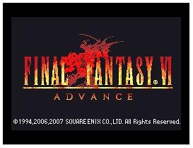 Final Fantasy VI Advance (GBA)