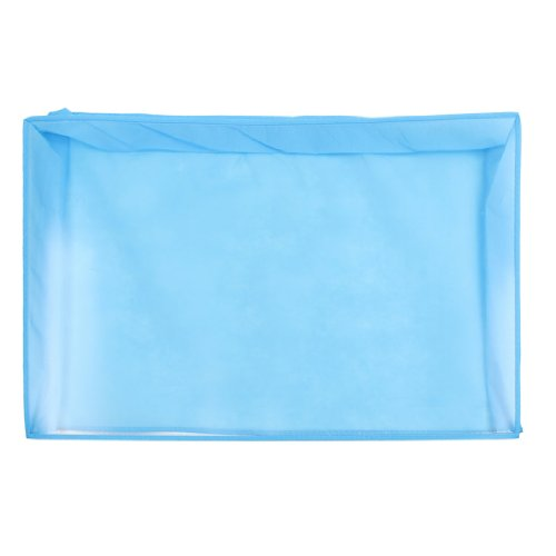 """Desktop Blue Dust Cover Protector For 20""""-22"""" Lcd Widescreen Monitor"""
