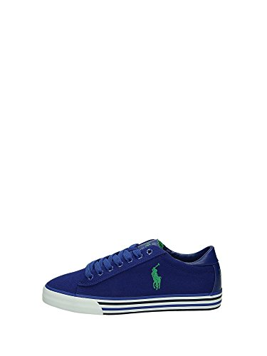 Polo Ralph Lauren HARVEY-NE Sneakers Bassa Uomo Bluette 42