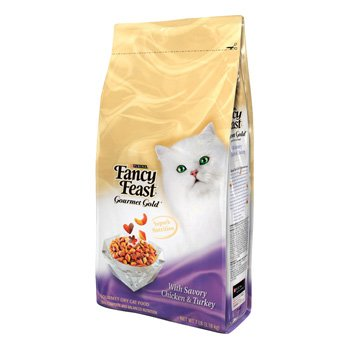 Detail image Purina Fancy Feast Gourmet Cat Food Chicken Turkey, 7-Pounds