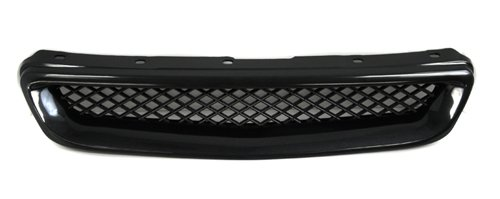 96-98 Honda Civic Front Type-R Sport Grille Grill Kit Black