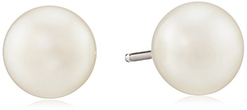 Honora Sterling Silver White Button Freshwater Cul…