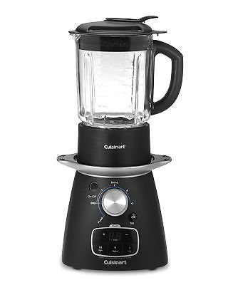 Brand New New Cuisinart Sbc 1000 Blend And Cook Soup Maker - 900 Watt Black Blender
