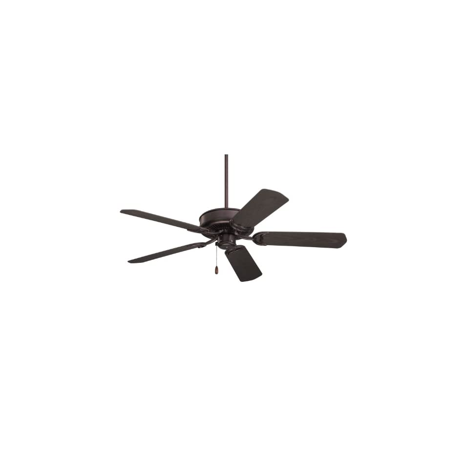 Emerson CF654ORB Sea Breeze 52 Inch Ceiling Fan with Light Kit and Remote / Wall Control, Oil Rubbed Bronze Finish