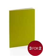 Premium A5 Green Lined Notebook