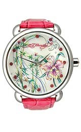 Ed Hardy Women's GN-PK Garden Pink Watch