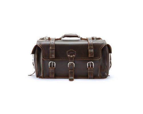 9770d0b98b Saddleback Leather Side Pocket Duffel Dark Coffee Brown - Import It All