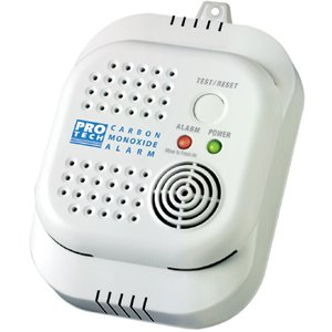 ProTech 7020 Direct Outlet Plug-in Carbon Monoxide Alarm with Safety Flange