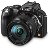 Panasonic Lumix DMC-G5HEB-K Compact System Camera with 14-140mm Lens - Black (16.5MP) LCD
