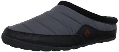 Columbia Men's Packed Out Omni-Heat Slipper,Charcoal,7 M US