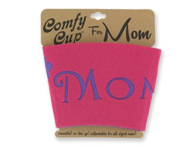"Package Of 2 ""Mom"" Cozy Cup Holders/Mother'S Day Gifts/Birthday/Beverage Holders"