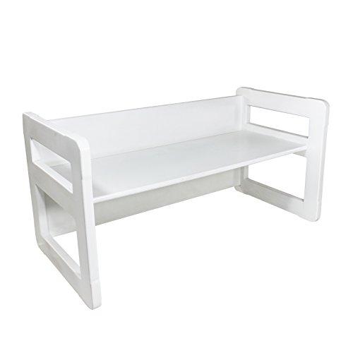 Muebles de madera para niños, Un banco multifuncional Pequeño o Mesa ...