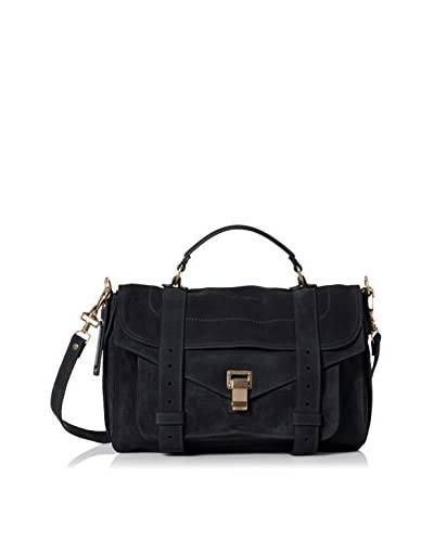 Proenza Schouler Women's Borsa Medium Cross-Body Bag, Navy