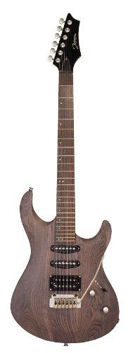 Johnson Js-367-Bk Adrenaline Electric Guitar, Transparent Black