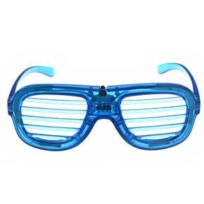 Fashion Led Flashing Sparking Glasses Party Mask Glasses (Blue)