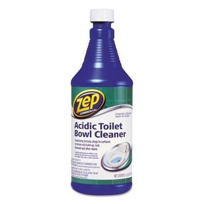 Zep Commercial - 4 Pack - Acidic Toilet Bowl Cleaner 32 Oz Bottle