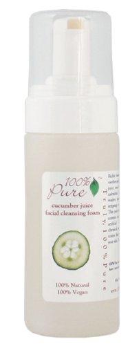 Organic Cucumber Juice Facial Cleansing Foam 6oz 170g