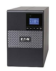 Eaton 5P Tower UPS 5P1000 1000VA TOWER LCD 120V 1 kVA/770 WTower 0.08 Hour Full Load - 8 x NEMA 5-15R