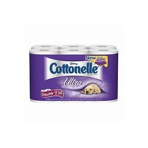 Cottonelle Ultra Bath Tissue, Double Roll 12 pk