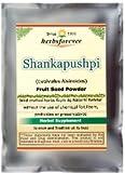 Shankhpushpi Powder (Whole Plant, Root) (Convolvulus Pluricaulis) (Ayurvedic Stress Relief Formulation) (Wild Crafted from natural habitat) 16 Oz, 454 Gms 2x Double Potency