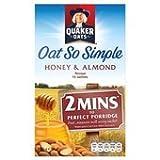 Quaker Oats Oat So Simple Honey & Almond Porridge 10 X 33G