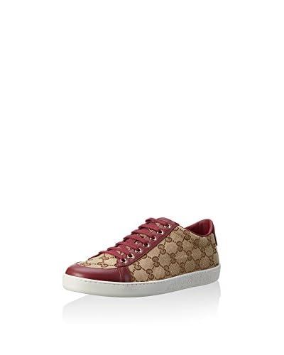 Gucci Sneaker [Beige/Bordeaux]