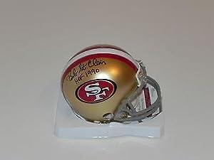 Signed Bob St. Clair Mini Helmet - 49er HOF 1990 #w596449 - JSA Certified -... by Sports Memorabilia