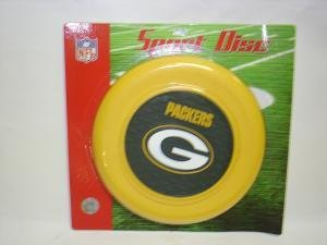 NEW Green Bay Packers Sport Disc NFL Frisbee Dog Toy
