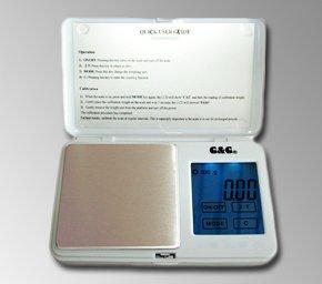 100 G/0.01 g-tS blanc g balance de voyage & g
