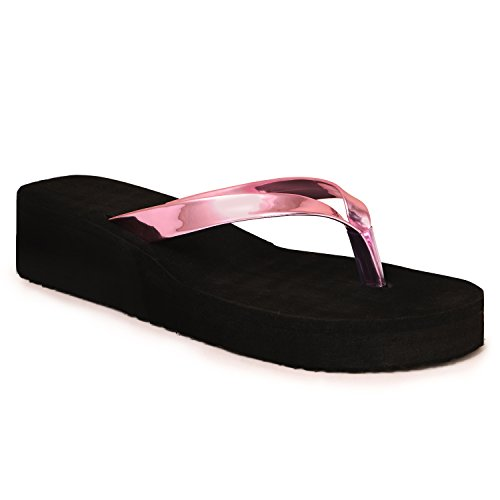 Ladies Synthetic Rubber Wedges New Design Heel Slipper