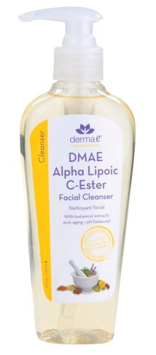 derma e Alpha Lipoic C-Ester Foaming Facial Cleanser, 6-Ounce Bottle