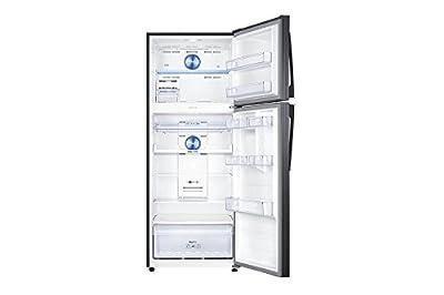 Samsung RT49K6338BS/TL Frost Free Freezer-on-Top Free-Standing Refrigerator (478 Ltrs, 3 Star Rating, Black Inox)
