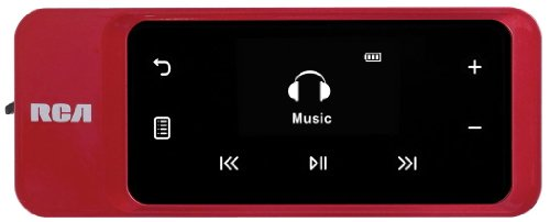 RCA TH2002RDR 2 GB Thumbdrive Style MP3 Player with Touch Control Navigation and Direct USB