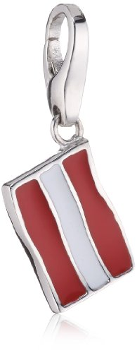 Giorgio Martello Charm Silver 152-802929 Lucky Flag Austria