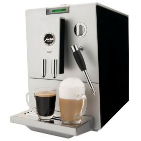 Jura 13421 ENA4 Automatic Coffee and Espresso Center, Ristretto Black/Platinum Front from Jura