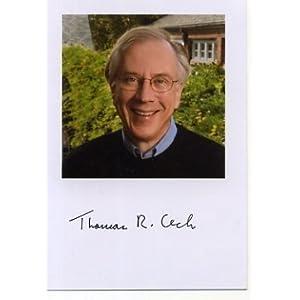 Thomas Cech Nobel Prize Chemistry Winner Signed Autograph Photo at