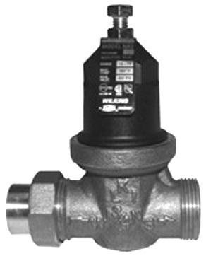 wilkins 1 nr3xl 1 pressure reducing valve fnpt union x fnpt no lead household rough plumbing. Black Bedroom Furniture Sets. Home Design Ideas