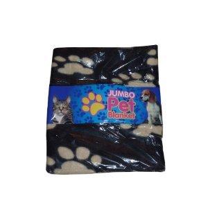 Jumbo Pet Blanket (Black)