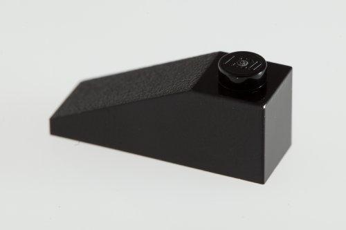 100x Lego Black 1X3/25° Roof Tiles Super Pack