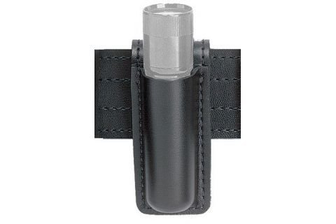Safariland 306 Open Top Mini Flashlight Carrier, Basketweave Black, Surefire 6P, Basketweave Black