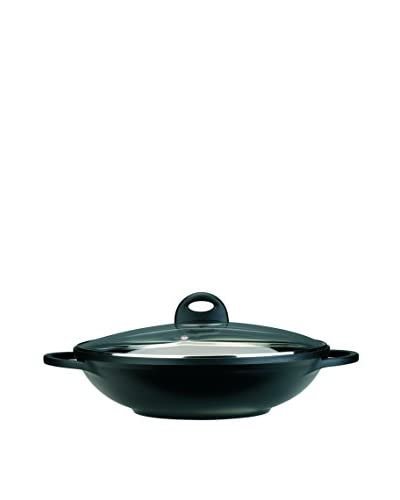 BergHOFF CookNCo 12.5 Cast Covered Wok, Black